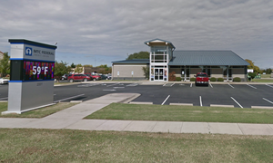 Adrmore Branch Storefront & Parking Lot