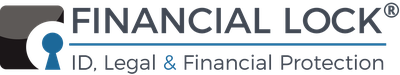 Financial lock logo