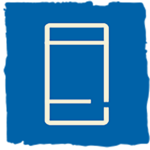 Icon of mobile phone