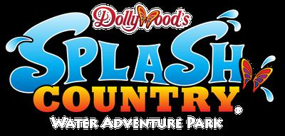 Dollywood splash country logo